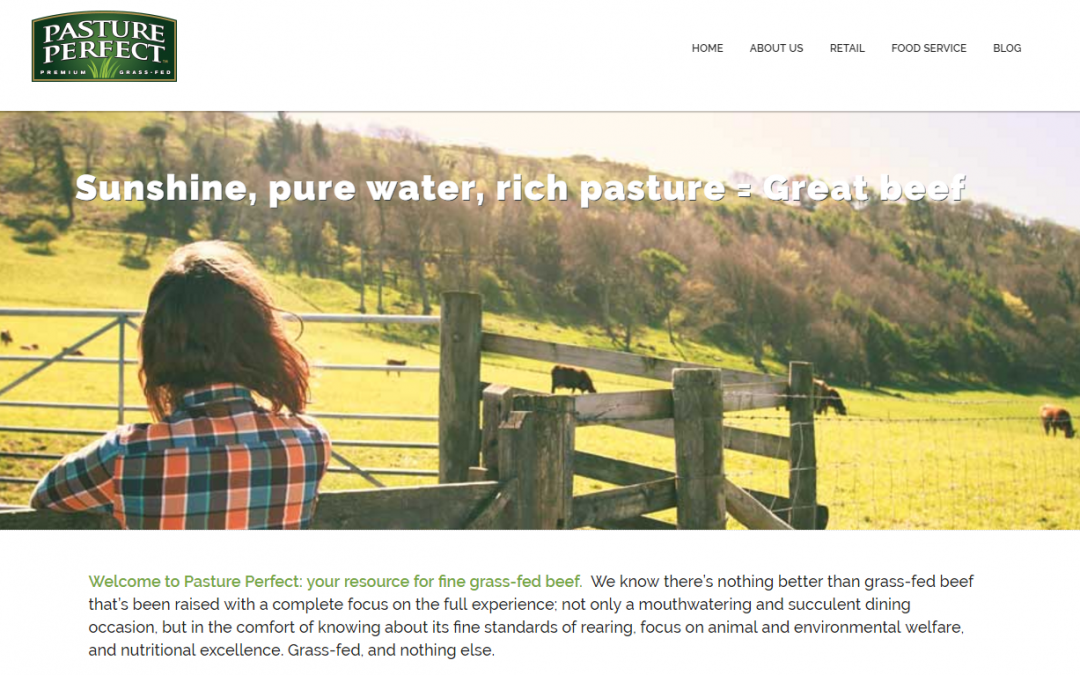 Launching our New Pasture Perfect Website
